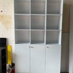 Tủ locker MDF trắng GHTop-5100
